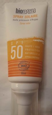 Spray Solaire SPF 50 - Product