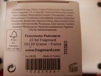 Eau de Hongrie baume après rasage - Produit - fr