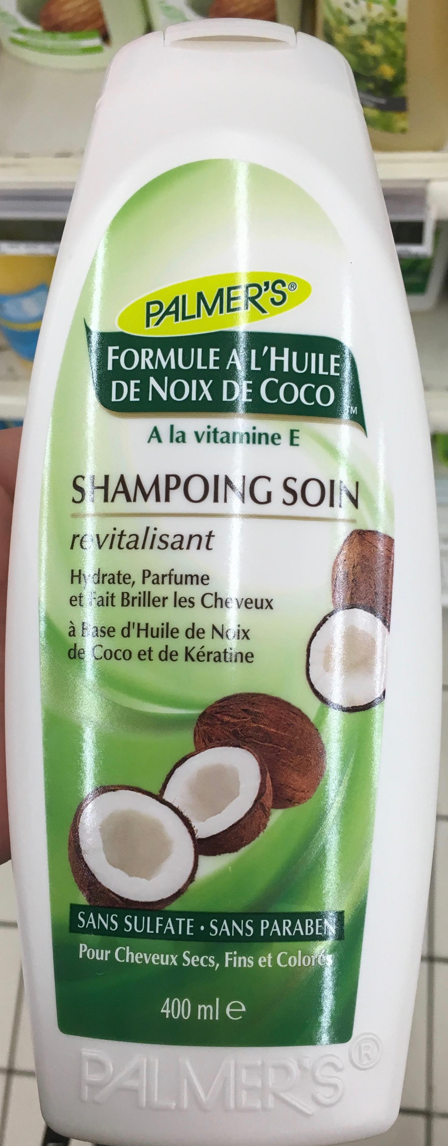 Shampooing soin formule à l'huile de noix de coco - Produit - fr