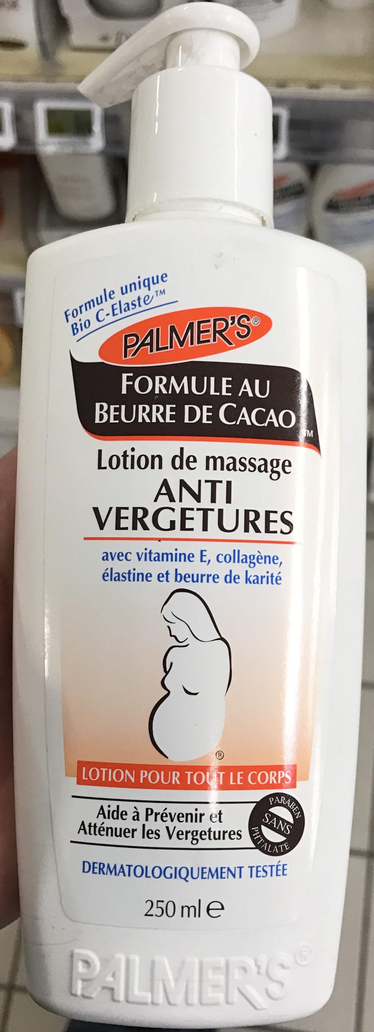 Lotion de massage Anti Vergertures - Produit