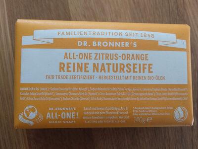All-One Zitrus-Orange Reine Naturseife - Produit - de