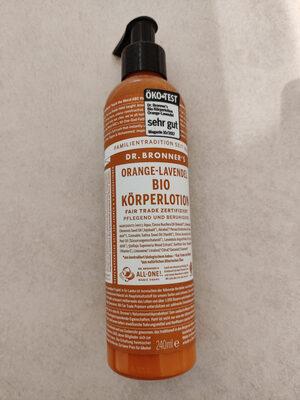 Orange-Lavendel Bio Körperlotion - Product - en