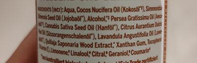 Orange-Lavendel Bio Körperlotion - Ingredients - en