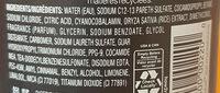 Tresemee Damage Protect - Ingredients - en