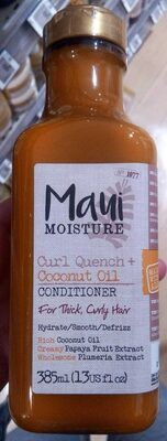Curl quench + coconut oil conditioner - Product