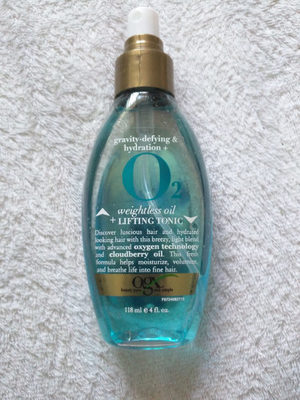 OGX Gravity-Defying & Hydration + O2 Weightless Oil + Lifting Tonic - Product