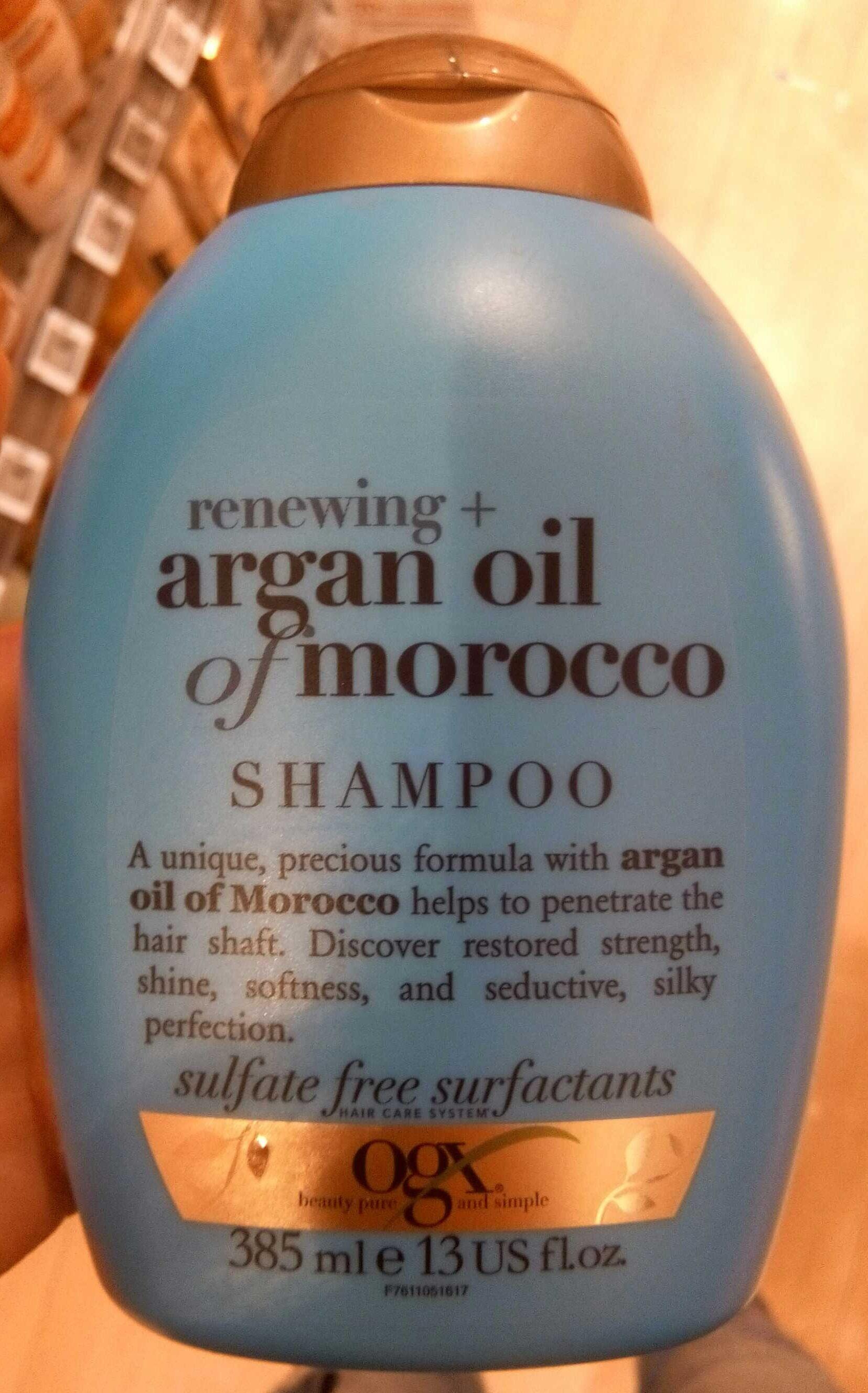 Argan oil of morocco Shampoo - Product - fr