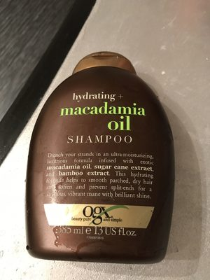 Hydrating Macadamia Oil - Product
