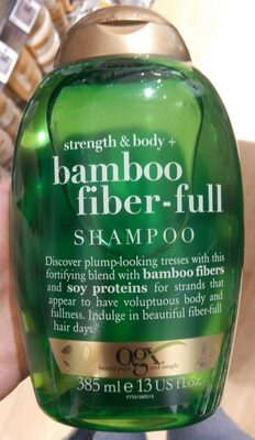 Bamboo fiver-full shampoo - Product