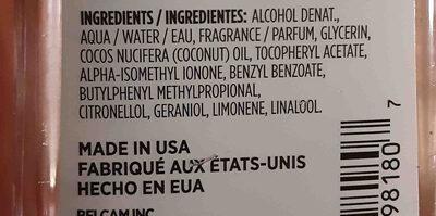 luxe perfumery - Ingredients - en