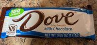 Dove chocolate Bar - Product - en