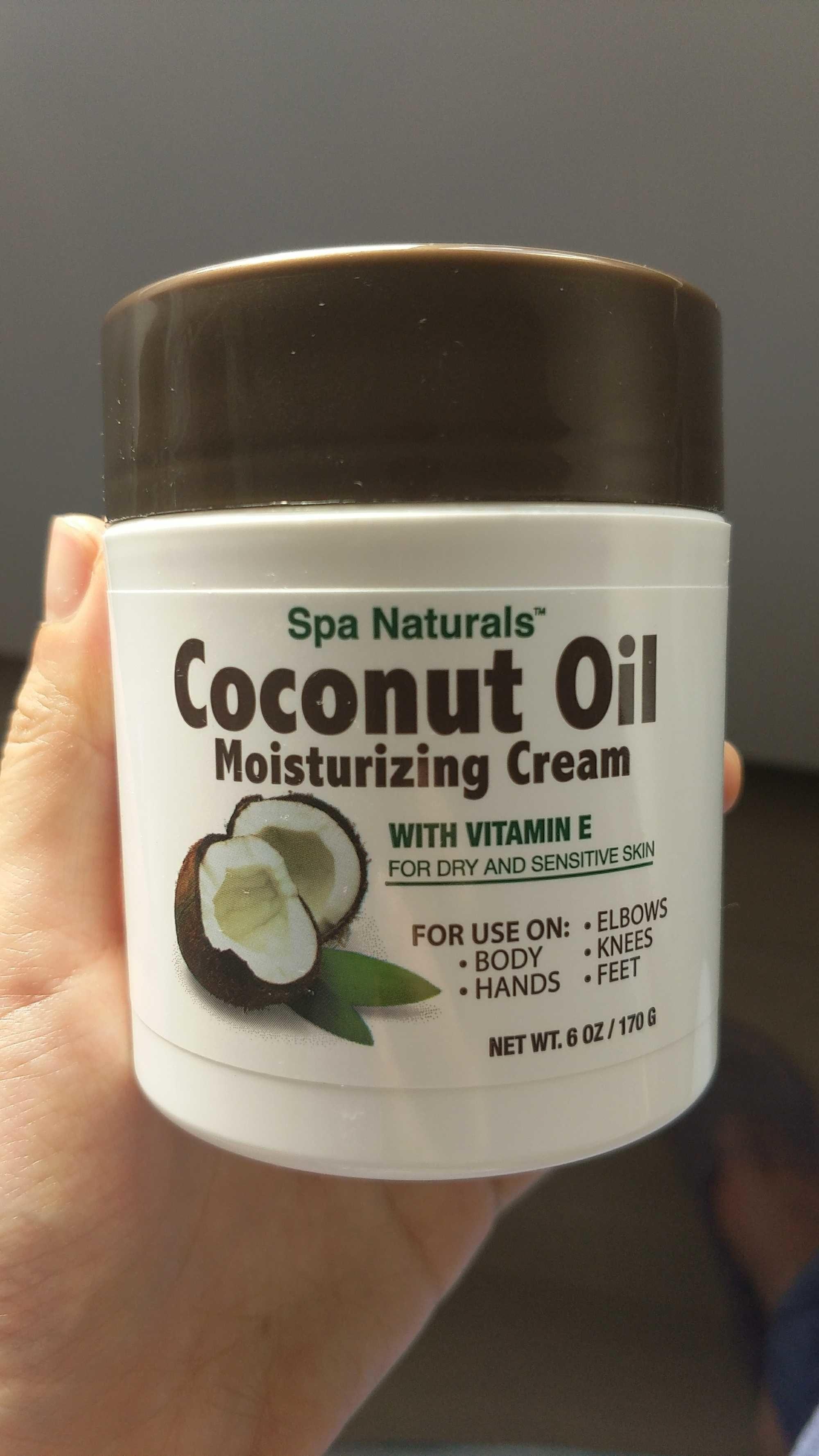 coconut oil moisturizing cream - Produit - zh