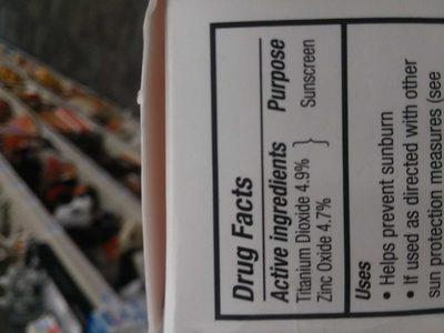 Vanishing zinc sun lotion - Product