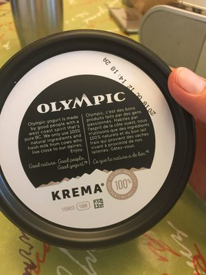 Olympique krema - Product