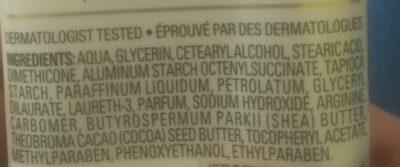 Revitalizing Vitamine E - Ingredients