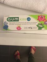 Gel dentifrice G.U.M Kids - Product