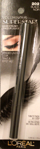 VOLUMINOUS SUPERSTAR™ liquid eyeliner 202 Black - Product