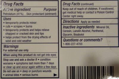 Aquaphor Healing Ointment 2 Pack - Ingredients - en