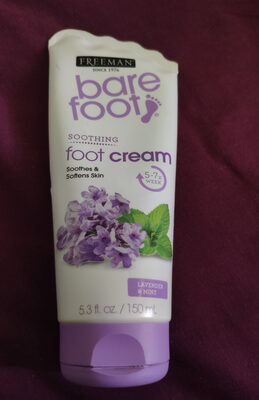 Soothing foot cream Lavender & Mint - Product - en