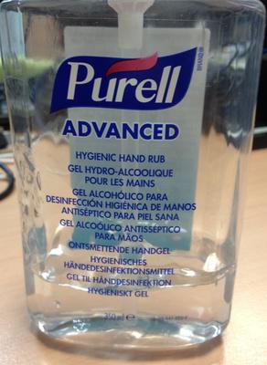 Advanced Gel hydro-alcoolique pour les mains - Produit