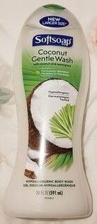 Softsoap Coconut Gentle Wash - Product - en