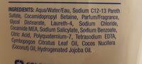 Softsoap Coconut Gentle Wash - Ingredients - en