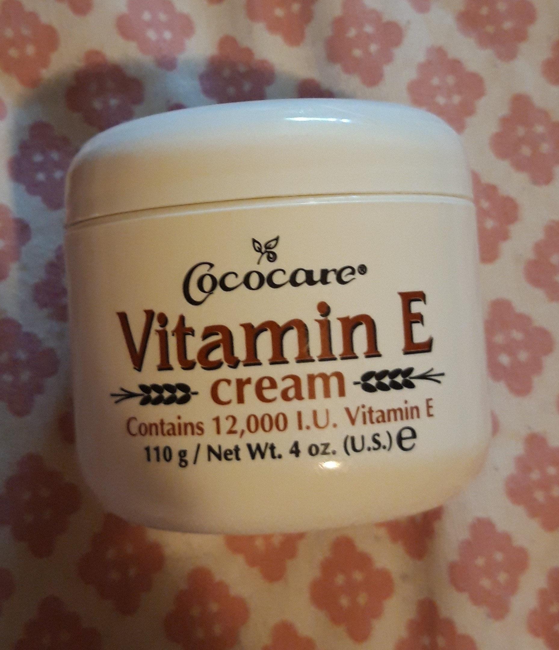 Vitamin E cream - Product - en