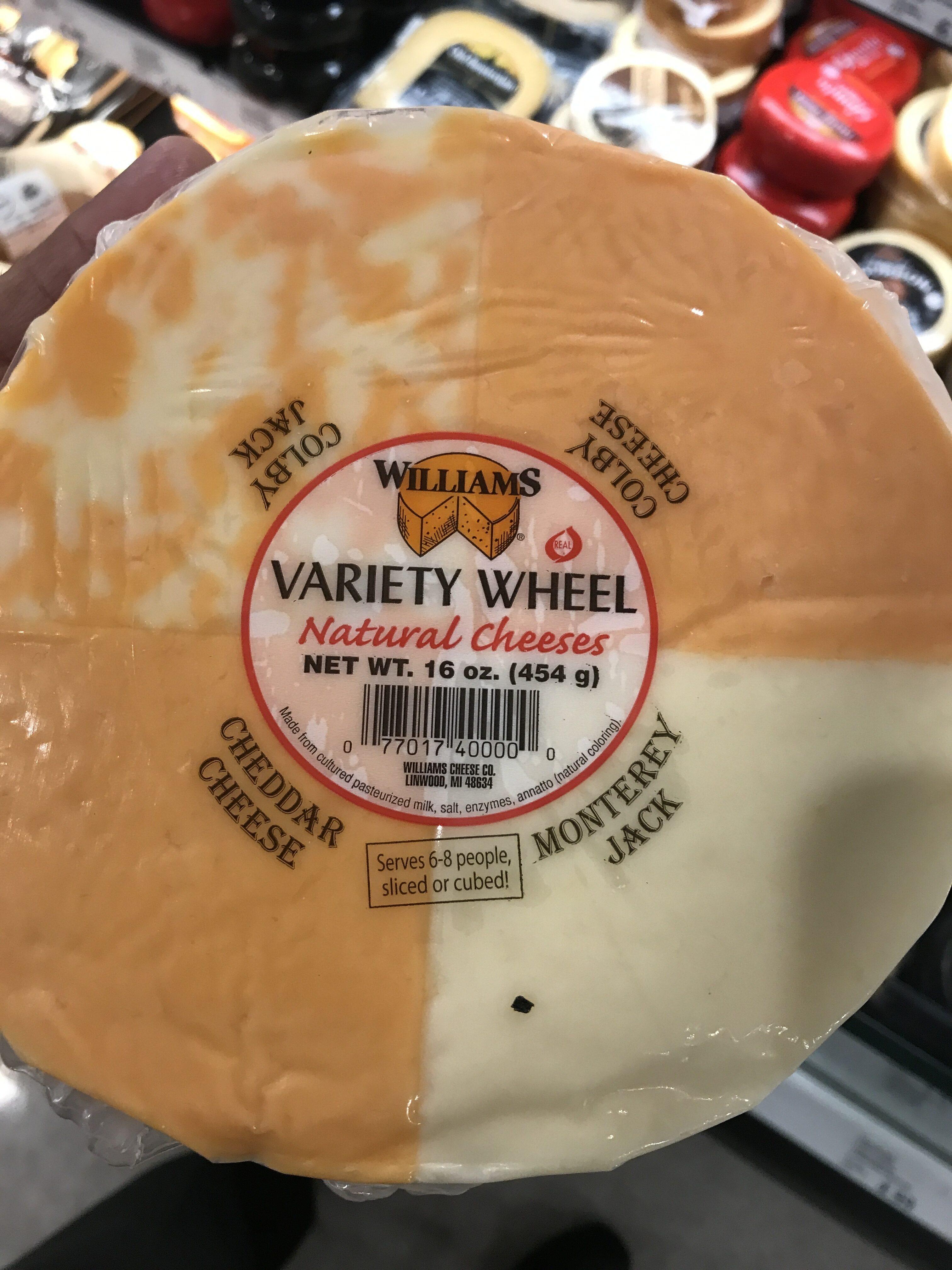 Williams, variety wheel natural cheeses - Product - en