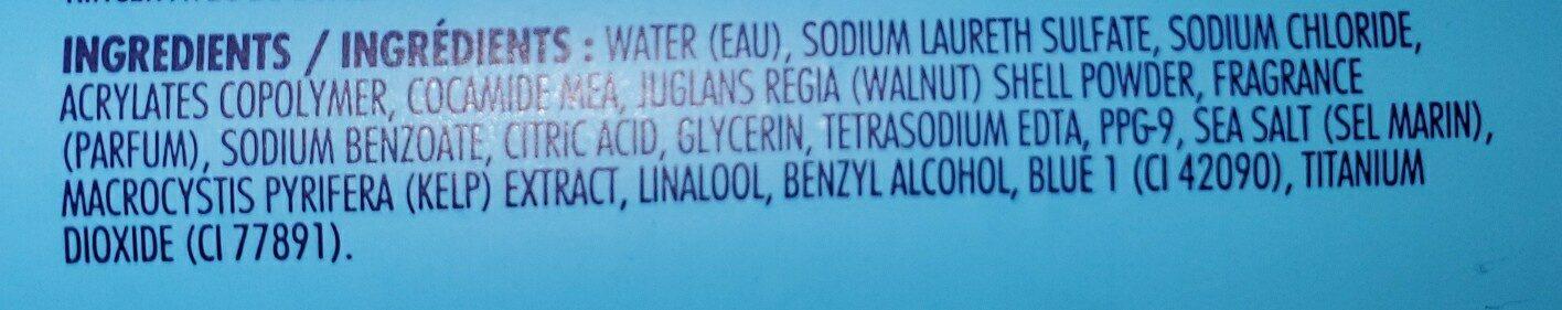 sea salt and Pacific kelp - Ingredients - en