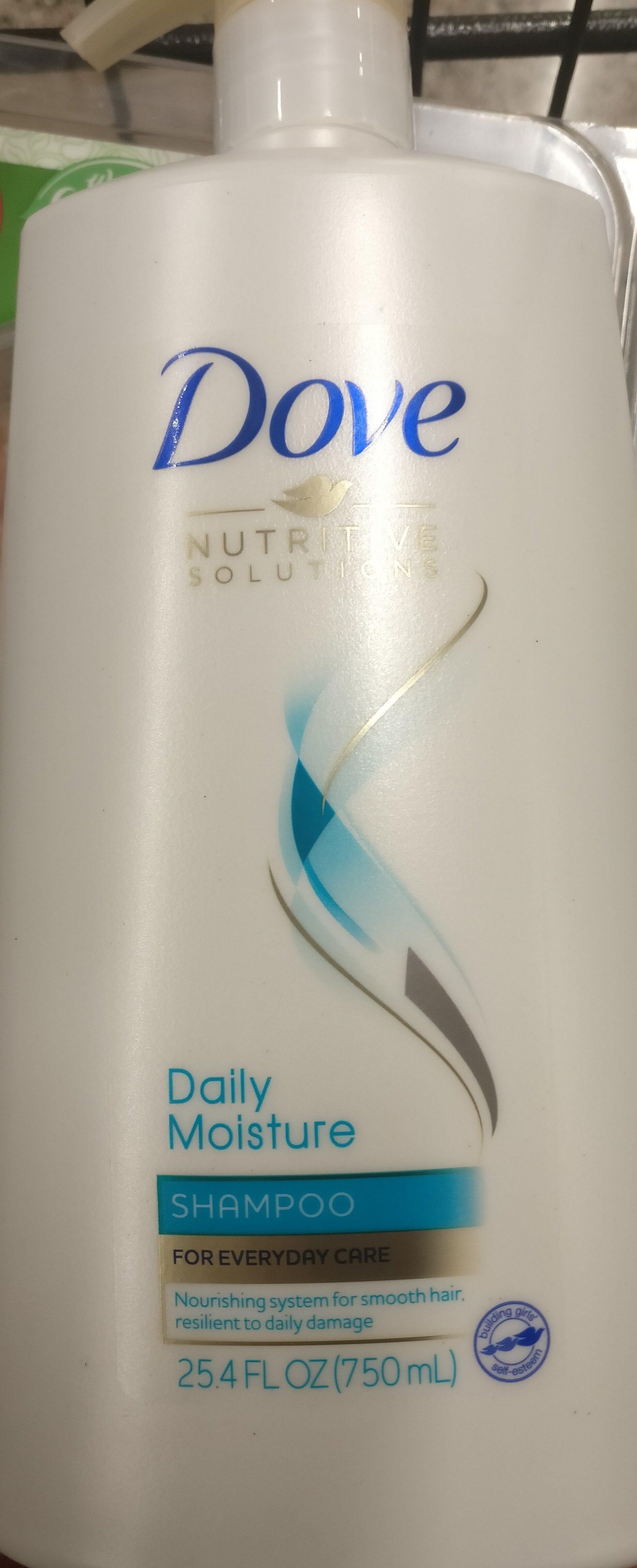 dove daily moisture shampoo - Product - en