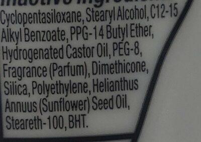 dove - Ingredients - en