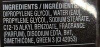 axe - Ingredients - en