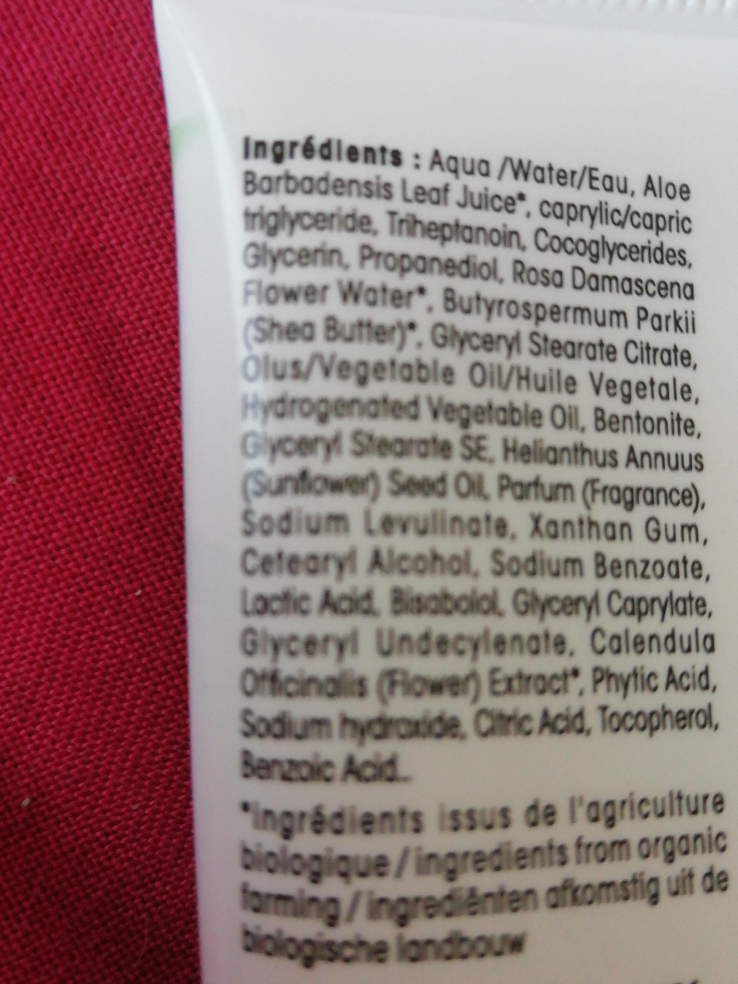 Hydra aloe vera - Ingredients - fr