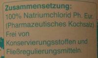 Nasenspülsalz - Ingredients - en