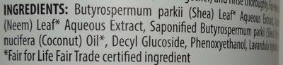 Foaming Hand Soap - Ingredients - en