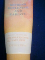 pineapple enzyme clay face mask - Product - en