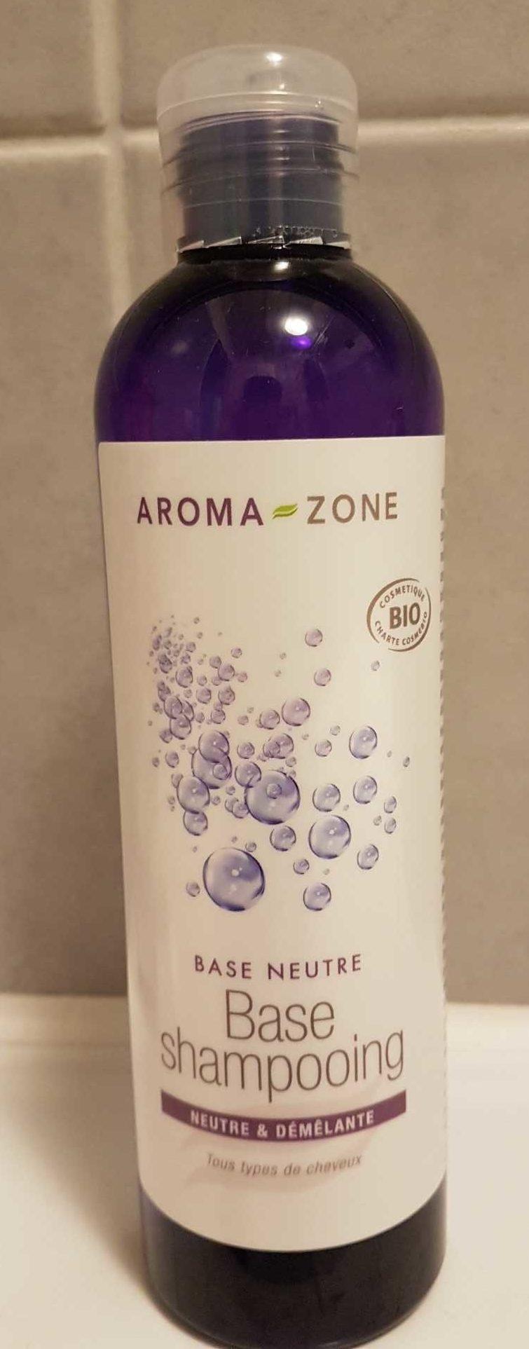Base shampooing - Product