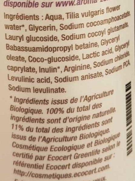 Base shampooing - Ingredients