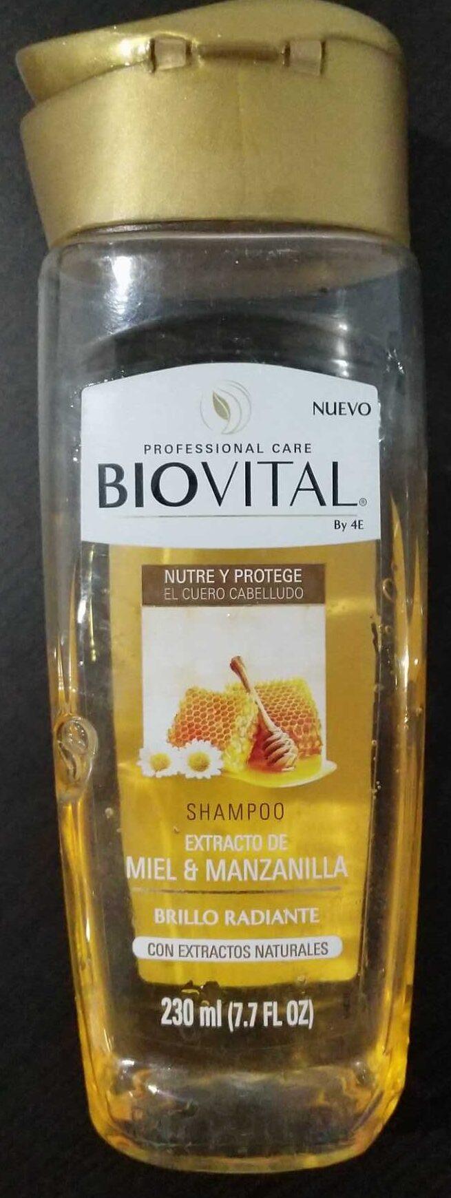 Shampoo extracto de miel & manzanilla - Product - es
