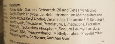 CeraVe Moisturizing Cream - Ingredients