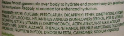Cetaphil Moisturizing Cream - Ingredients - en