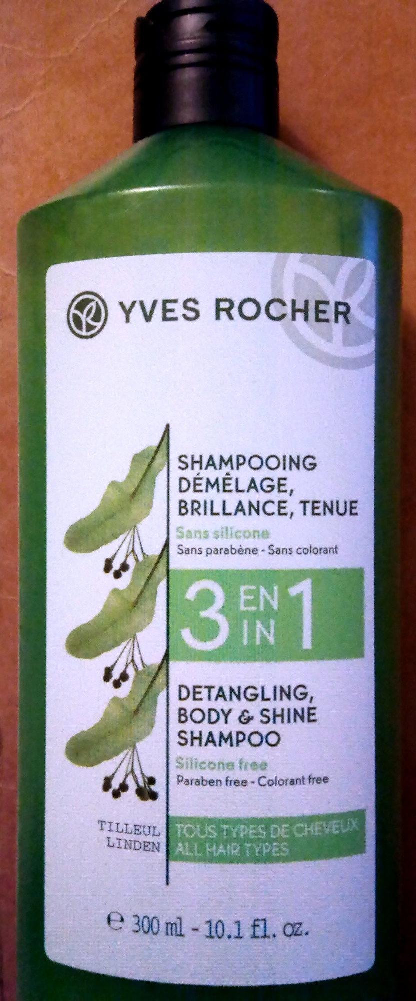 Shampooing démêlage Brillance, Tenue 3 en 1 - Product