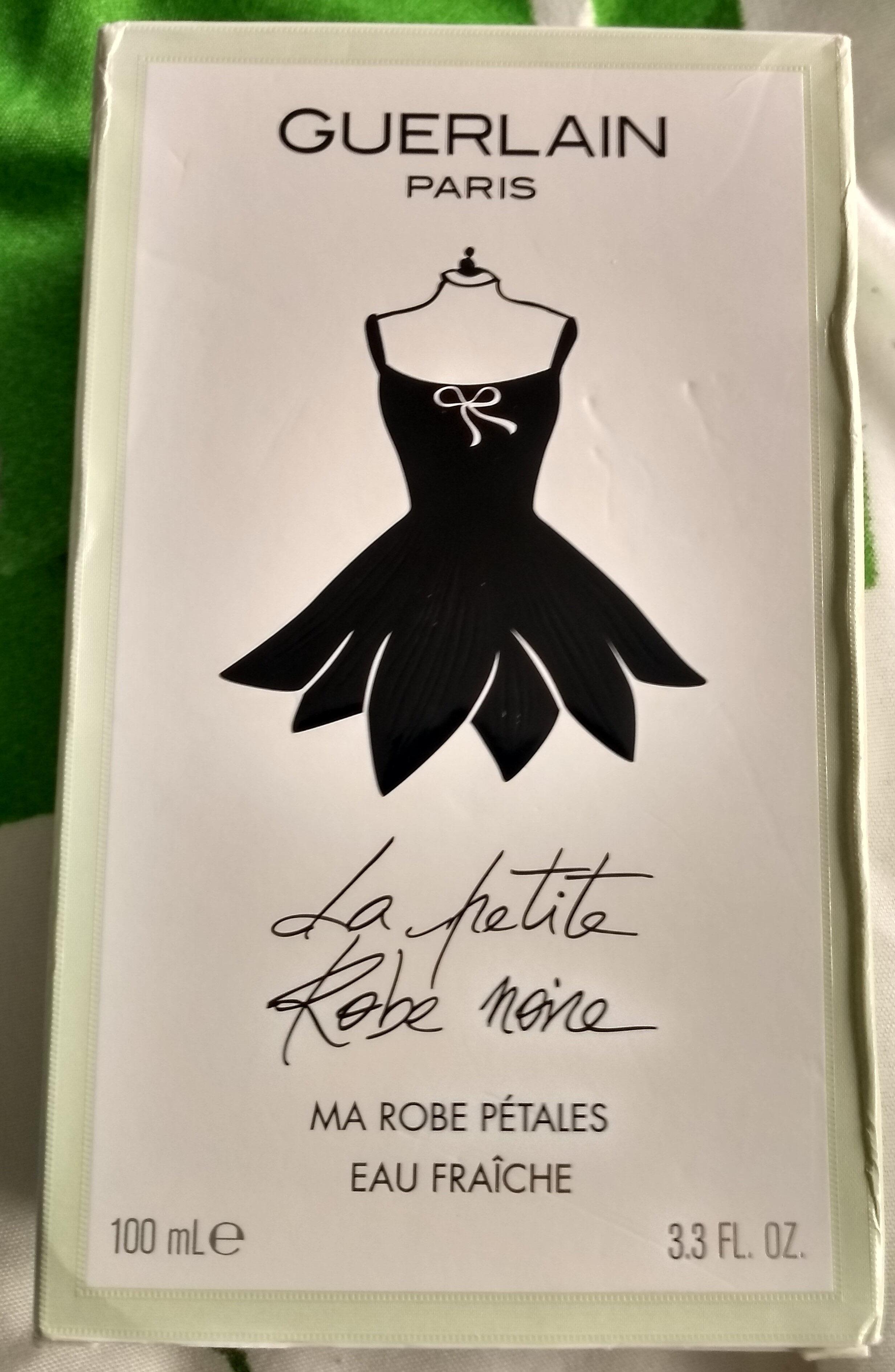 La petite robe noire. Ma robe pétales. - Product - fr