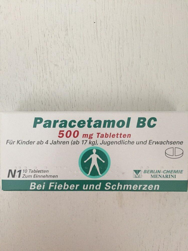 Paracetamol BC 500mg - Produit - de
