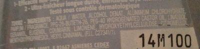 Nord Extrême - Ingrédients - fr