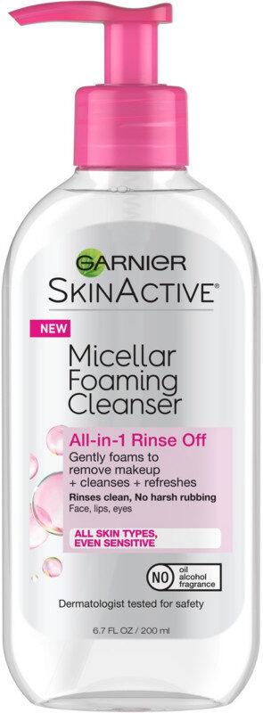 SkinActive Micellar Foaming Face Wash - Produit - en
