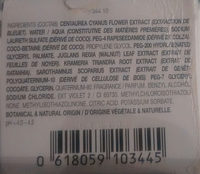 phytargent shampooing cheveux gris et blancs - Ingredients
