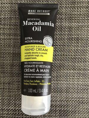 Macadamia oil - Produit