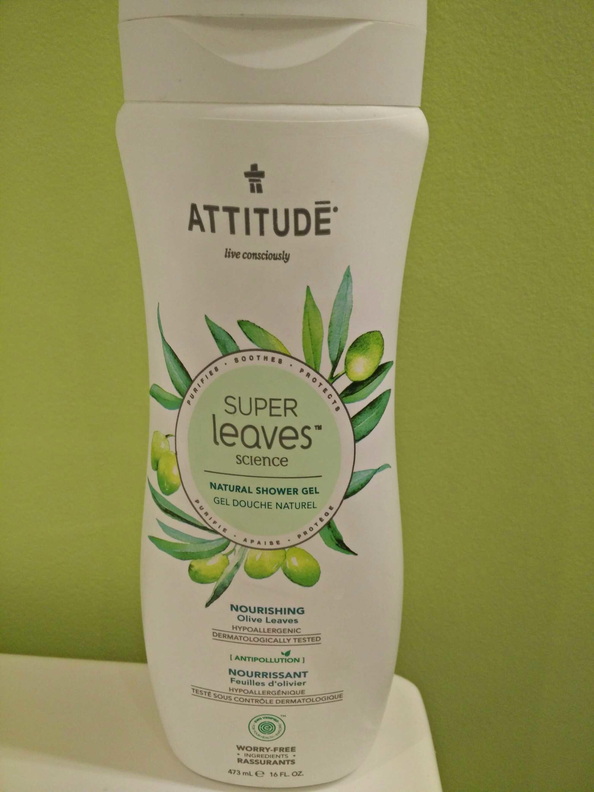 Gel douche naturel nourrissant - Produit - fr