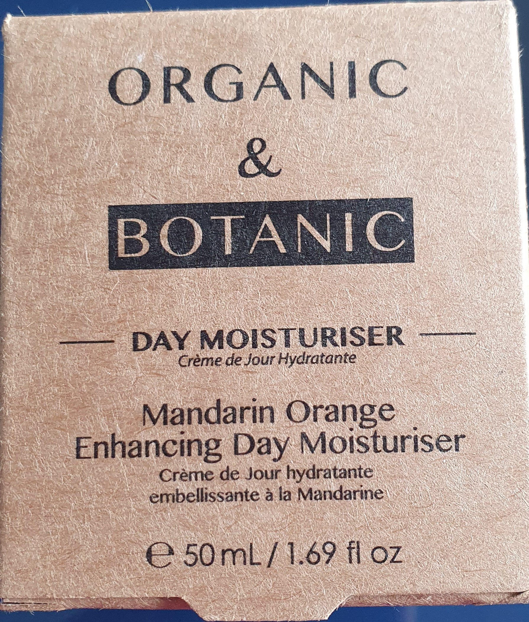 Mandarin Orange Enhacing Day  Moisturiser - Product